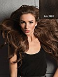"Hair U Wear Hairdo 20"" Invisible Extension Instantly Adds Length and Volume (R6/30H Chocolate Copper)"