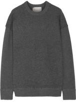 Jason Wu Oversized Textured Stretch-Knit Sweater