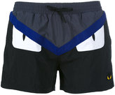 Fendi Bag Bugs swim shorts - men - Polyamide - 52