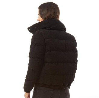 Brave Soul Womens Slay Cord Jacket Black