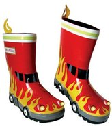 Kidorable Fireman Rain Boot (Toddler/Little Kid)