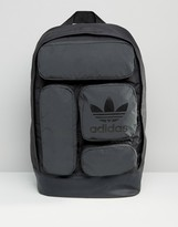 adidas Multi Pocket Backpack In Black AY8663