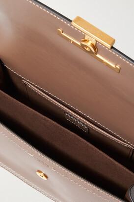 Tod's Mini Leather Shoulder Bag - Brown
