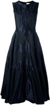 Roksanda flared embroidered dress - women - Silk/Nylon/Polyester/metal - 6
