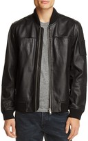 Blank NYC Blanknyc Leather Bomber Jacket
