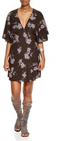 Free People Melanie Printed Mini Dress
