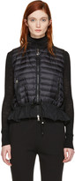 Moncler Black Lightweight Down Vest