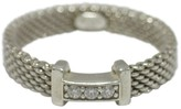 Tiffany & Co. 925 Sterling Silver With Diamonds Somerset Ring Size 7.5