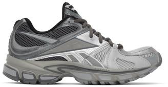 Vetements Grey Reebok Edition Runner 200 Sneakers