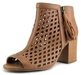 Jellypop Madison Women Open-toe Synthetic Tan Ankle Boot.