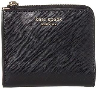 Kate Spade Spencer Small Bifold Wallet (Black) Wallet