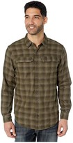 Columbia Silver Ridgetm 2.0 Flannel (Olive Green Plaid) Men's Long Sleeve Button Up