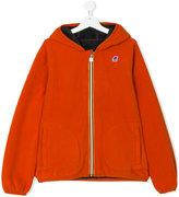 K Way Kids reversible fleece hoodie