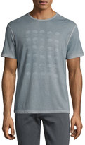 John Varvatos Skull Graphic Short-Sleeve T-Shirt, Indigo