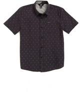Volcom Zeller Medallion Print Short Sleeve Woven Shirt (Toddler & Little Boys)