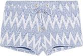 Melissa Odabash Shelly jacquard-knit shorts