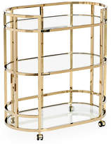 Interlude Hayden 3-Tier Bar Cart - Brass