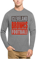 '47 Men's Cleveland Browns Compton Club Long-Sleeve T-Shirt
