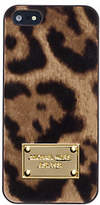 Michael Kors Mara Hair Calf Phone Case For Iphone 5