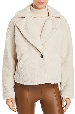 Sanctuary Keep Your Cool Faux Shearling Jacket