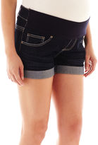 Tala Jeans Tala Maternity 5-Pocket Shorts - Plus