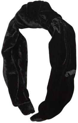Emporio Armani Velvet Headband
