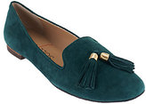 Sole Society Suede Smoking Slipper with Tassels - Ceara