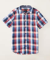 DKNY Pompeian Check Button-Up - Toddler & Boys