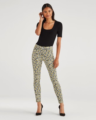 7 For All Mankind Ankle Skinny in Lazy Daisy Print