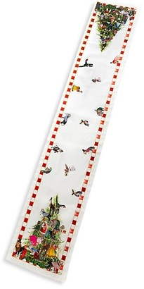 Mackenzie Childs Animal Fete Table Runner