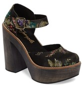 Free People Women's Starlet Embroidered Platform Pump
