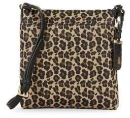Tommy Hilfiger Julia Leopard-Print Crossbody Bag
