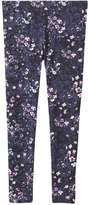 Joe Fresh Kid Girls' Print Legging, JF Midnight Blue (Size XL)