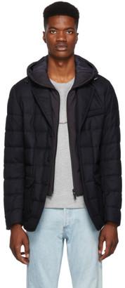 Moncler Navy Vernoux Jacket
