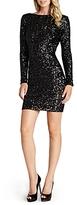Dress the Population Lola V-Back Sequin Dress