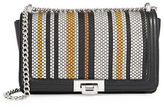 Sam Edelman Helen Leather Woven Shoulder Bag