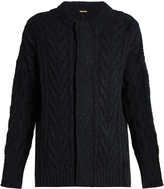 ADAM by Adam Lippes Wool and cashmere-blend cable-knit cardigan