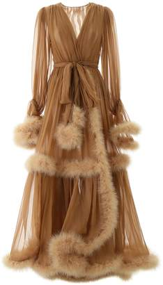Dolce & Gabbana Feather Ball Gown
