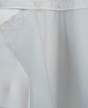 "Hookless Peva Snap 70"" x 69"" Shower Curtain Liner Bedding"