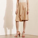 Ralph Lauren Crepe A-Line Skirt