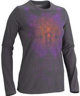 Marmot Women's Lattice Tee Long Sleeve - Dark Steel Long Sleeve Shirts