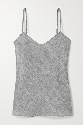 Miguelina Kita Linen Camisole - Dark gray
