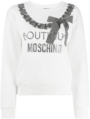 Moschino Fantasy knit top
