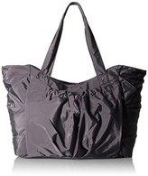 Baggallini BG by Balance Large Smoky Grey Tote Bag