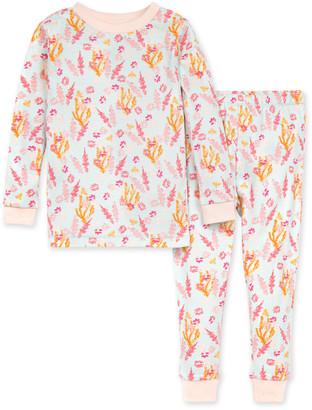 Burt's Bees Wyoming Wildflowers Organic Baby Snug Fit Pajamas