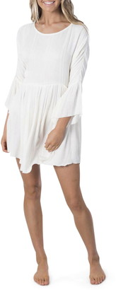 Rip Curl Sunrise Long Bell Sleeve Minidress