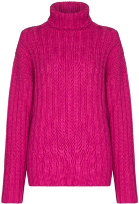 Our Legacy Roll Neck Ribbed Jumper