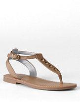 Classic Girls Athena Studded Dress Sandals-Sisal