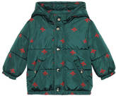 Gucci Baby bees stars padded jacket