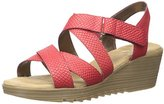 Aerosoles Women's Bogota Synthetic Wedge Sandal